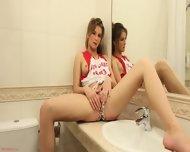 Solo Performance In The Bathroom - scene 3