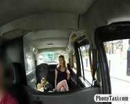 Busty Amateur Blonde Girl Pussy Nailed For A Free Fare - scene 2