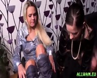 Exciting Fully Clothed Oil Rubbing - scene 10