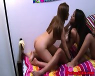 Pledged Lezzies Enjoying Oral Session - scene 8
