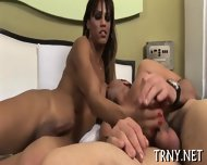 Tranny Enjoys Wild Sex - scene 1