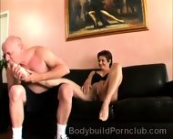 Submissive Perv Pleases The Coochie Of Beautiful Bodybuilder - scene 5