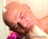 Submissive Perv Pleases The Coochie Of Beautiful Bodybuilder - scene 6