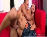 Slutty Centerfolds Tight Ass And Pussy Get Pumped By Hard Meatbone - scene 2