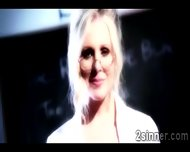 Blonde Teacher Mess With A Married Perv While His Wife Is Sleeping - scene 7