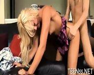Busty Teen Fucks With Mature Dick - scene 1