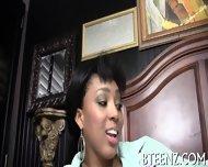 Horny Ebony And Her Fuckmate - scene 3