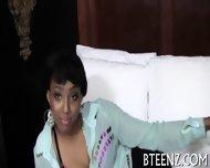 Horny Ebony And Her Fuckmate - scene 4