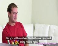 Nervous Guy In Porn Casting - scene 12
