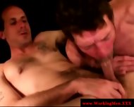 Straight Mature Bear Takes Big Facial - scene 2