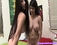 Real College Bimbo Girl Getting Rammed - scene 11