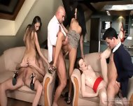 Orgy With Three Amazing Babes - scene 4