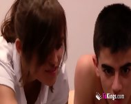 Young Couple Make A Movie - scene 6