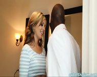 Sexy Babe Pounded Hard And Facialized By Her Black Stepdad - scene 3