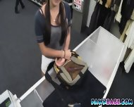 College Girl Got Banged At The Pawnshop While Being Recorded On Cam - scene 1