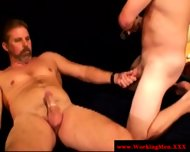 Straight Mature Bears Trying Anal Sex - scene 4