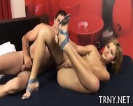 Pretty Tranny Enjoys Hardcore - scene 8