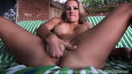 Masturbation And Big Dildo - scene 2