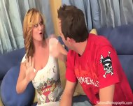 Elated Blonde Wants To Play With Dick - scene 1