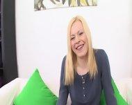 Blonde Girl Enjoys Sex Fun - scene 2