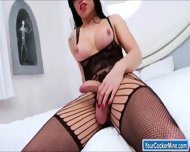 Busty Big Cock Ts Danielly Colucci Sucks Cock And Is Analed - scene 5