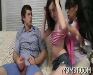 Divine Threesome With A Hot Mature - scene 7