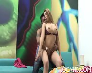 Hot Chick Bends To Get Fucked Hard - scene 6