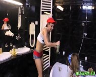 Fully Clothed Babes Having A Crazy Time - scene 4