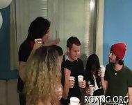 Guys Stare At Lesbo Fun - scene 3