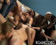 Guys Stare At Lesbo Fun - scene 6