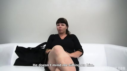 Busty European Amateur Zdena Sucks Dick At The Casting - scene 7