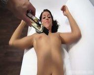 Sexy Oiled Body Of Amateur Zuzana - scene 9
