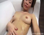 Asian Amateur Takes Off Sexy Lingerie - scene 10