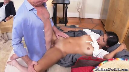 Daddy caught me masturbating and old maid hotel sex Going South Of The Border