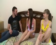Charming Teens Share Dick - scene 1