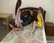 Charming Teens Share Dick - scene 2