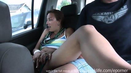 Bikini Girls Masturbate In Car - scene 5