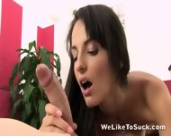 Cock In Cute Teen's Mouth - scene 6