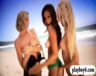Sexy Badass Chicks Enjoyed Outdoor Activities While All Naked - scene 1