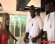 Slutty Babe Amy Brooke Dped With Massive Black Dicks - scene 3