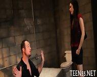 Teen Sluts Gets A Huge Cock - scene 2