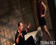 Teen Sluts Gets A Huge Cock - scene 3