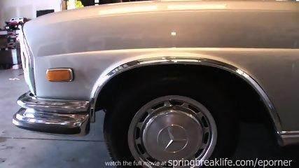 Mercedes Masterbation - scene 1