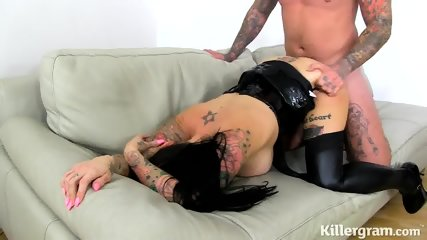 Hot Inked Fuck Doll In Action - scene 9