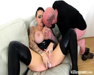 Hot Inked Fuck Doll In Action - scene 3
