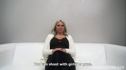 Vanda Rides Cock At The Casting - scene 3