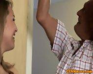 Cfnm Voyeurs Making Him Blow - scene 3