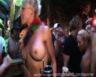 Hotties Flashing In A Bar - scene 12