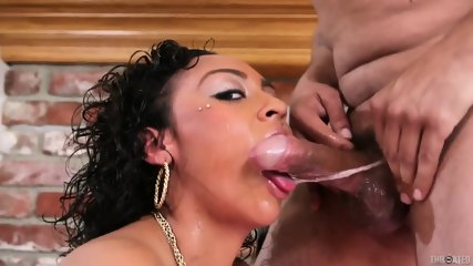 Hot Latina Cherry Hilson Gets Throated
