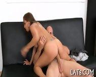 Riding On Dudes Throbbing Dick - scene 6